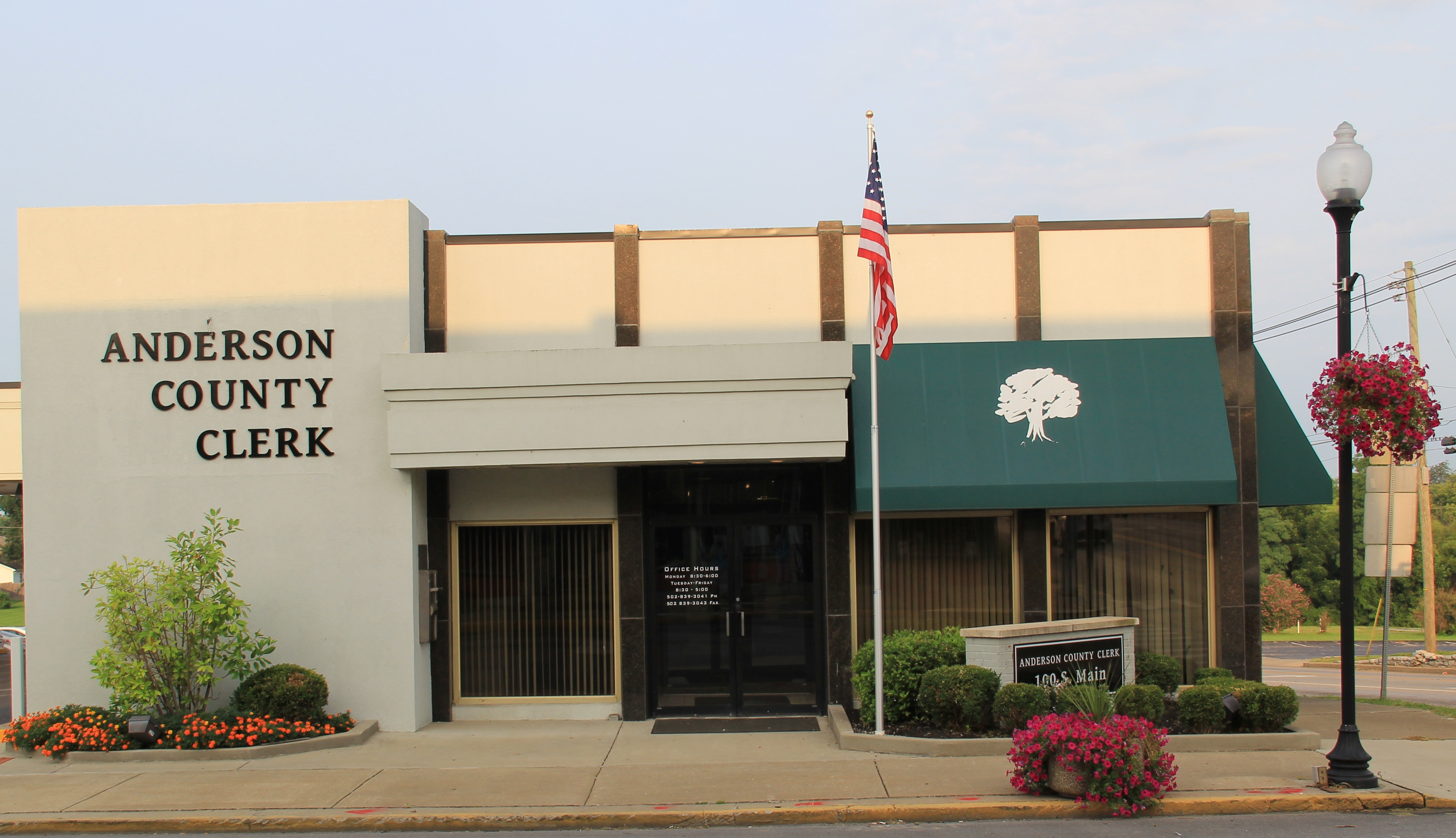 Anderson County Clerk Welcome